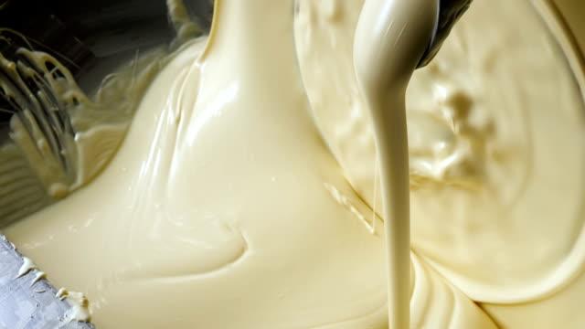 ホワイト チョコレートの準備 ビデオ
