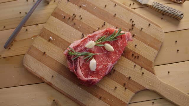 Preparing A Raw Steak video
