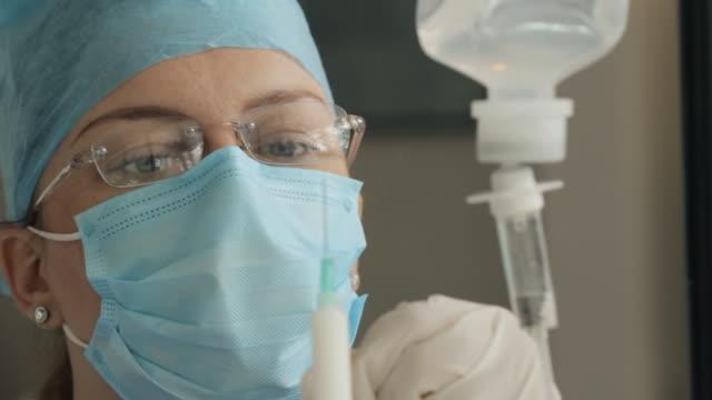 Preparing Anesthetic (HD) video