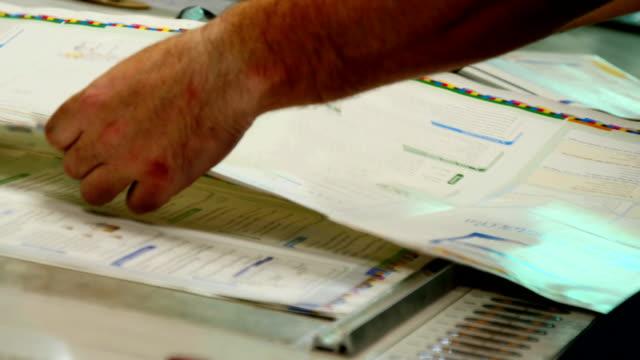 Preparing for print process video