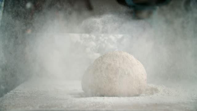 Préparation du pain frais sain - Vidéo