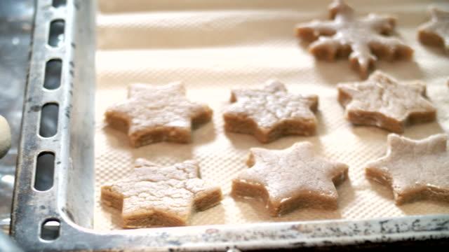 Preparing Gingerbread Cookies in Domestic Kitchen video