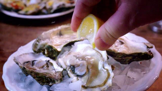 Preparing Oyster Dish