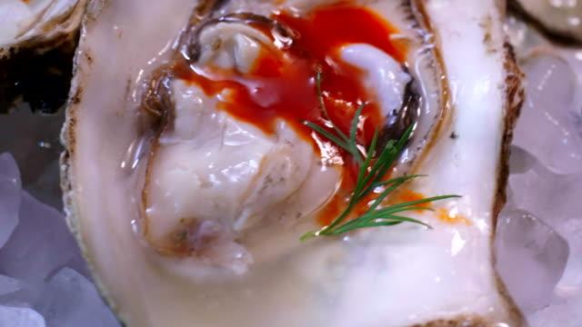 Preparing Oyster Dish video