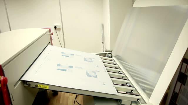 prepress... - lithograph stock videos & royalty-free footage
