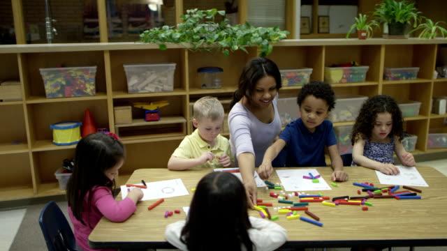 Preschool Art Time video
