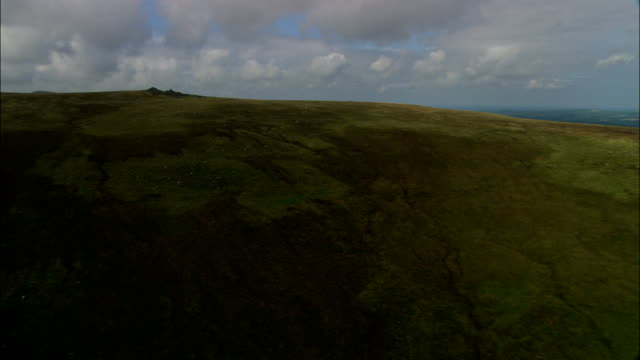 Preseli Hills - Aerial View - Wales, County of Pembrokeshire, United Kingdom video