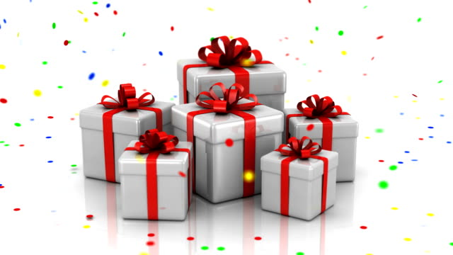 Presentation of Gift Boxes video