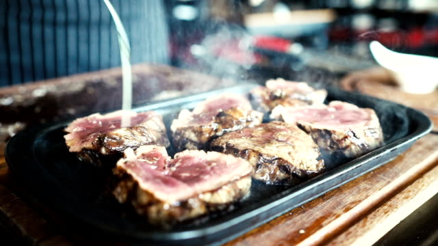 HD: Presentation of Steak video