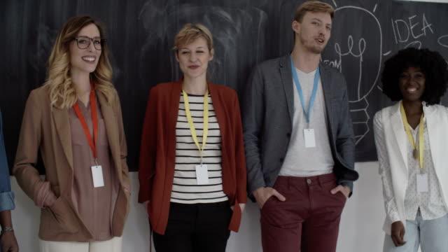 HD: Presenting New Creative Startup Team. video