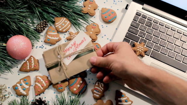Presents on Christmas and New Year holidays video