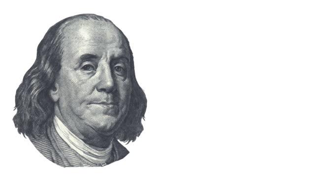 President Franklin is talking - copy space video