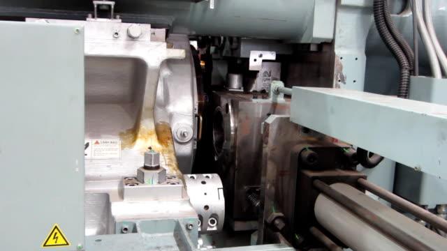 Press extruded aluminum pressure. video