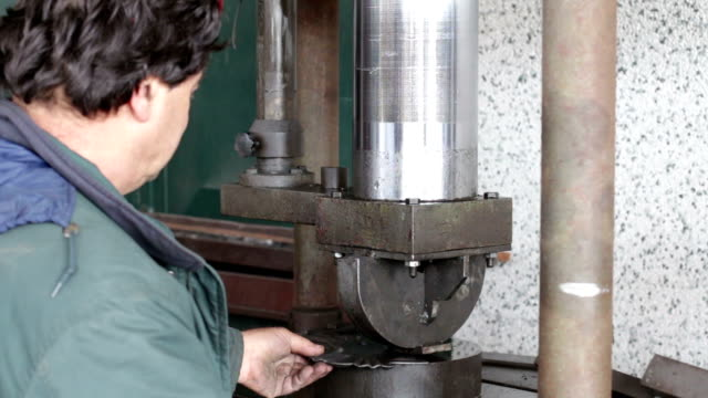 press in the mechanical industry video