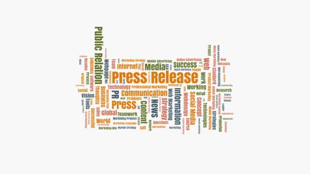 press release wordcloud