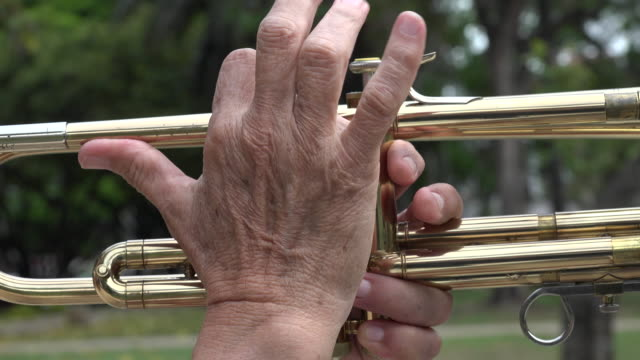 Pressing Trumpet Valves video