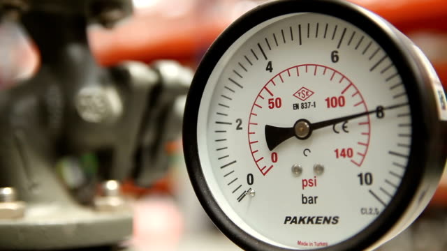 manometer - barometer bildbanksvideor och videomaterial från bakom kulisserna