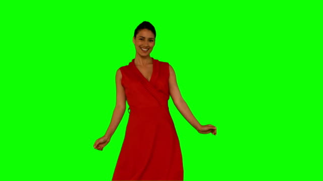 Pretty woman dancing video