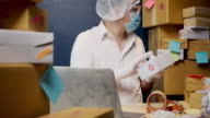 istock Prevent germs From the postal parcel delivery By wearing protective clothing 1214727949