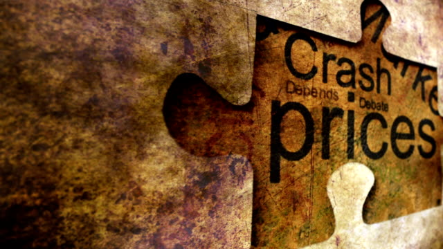 Prices puzzle grunge concept video