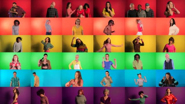Video Pride Flag Montage