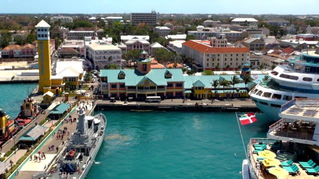 Prince George Wharf - Nassau, Bahamas video