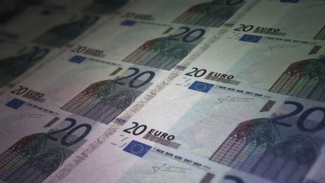 papier-euro-schein - euros cash stock-videos und b-roll-filmmaterial