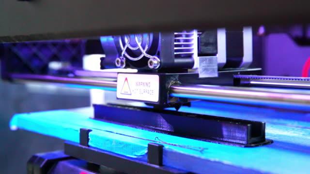 3D printer build model video