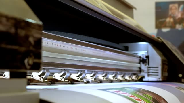 printer industrial size video