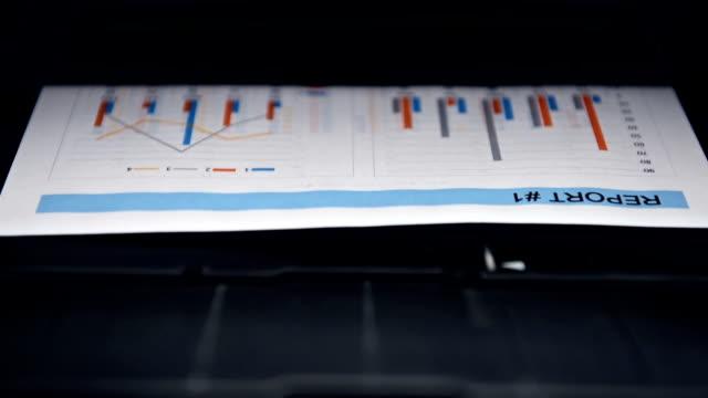 Printer Prints Report