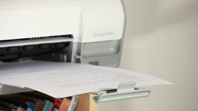 Printing documents video