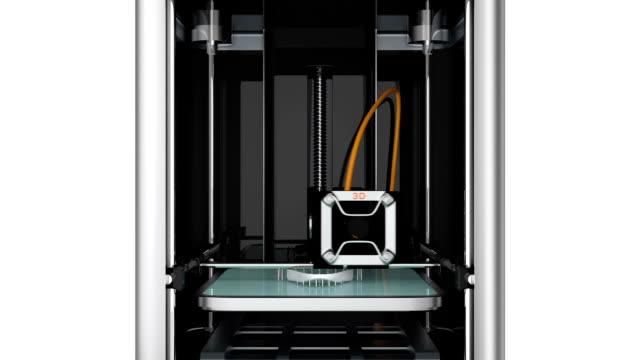 3d printing mänsklig skalle för snabb medicinsk lösning. - 2015 bildbanksvideor och videomaterial från bakom kulisserna