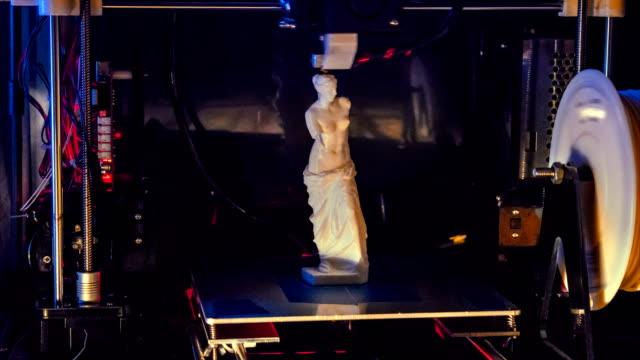 3D Printing Time Lapse Venus Greek Sculpture video