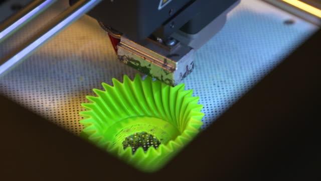 4K: 3D printing video
