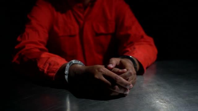 prison hands - wine filmów i materiałów b-roll