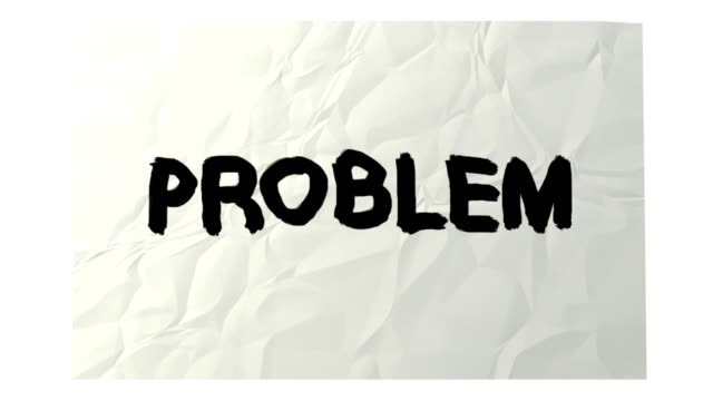 problem and solution video