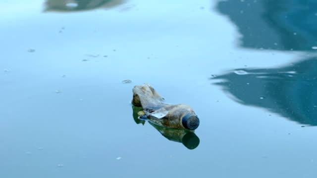 vídeos de stock, filmes e b-roll de problemas com o meio ambiente - flutuando na água