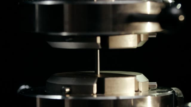 Process hydraulic testing metal details in isolated camera at metalworking Production process hydraulic testing metal details in isolated camera at modern metalworking factory in metallurgical industry durability stock videos & royalty-free footage