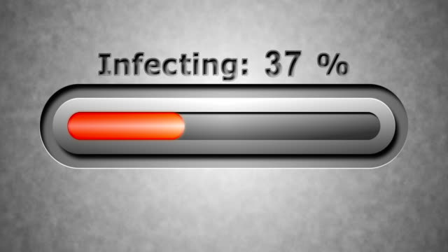 Process of Infecting Process of Infecting antivirus software stock videos & royalty-free footage