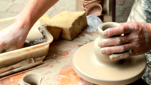 process of pottery video