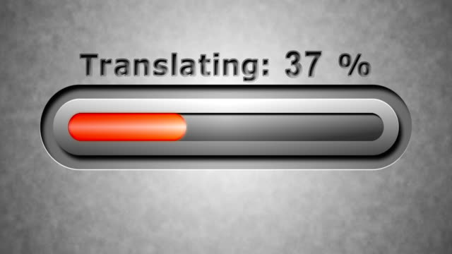 Process of Translating video