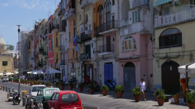 procida island, italy - procida video stock e b–roll