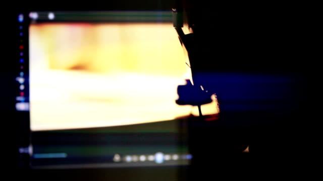 ディレクター、編集者 - 編集者点の映像素材/bロール