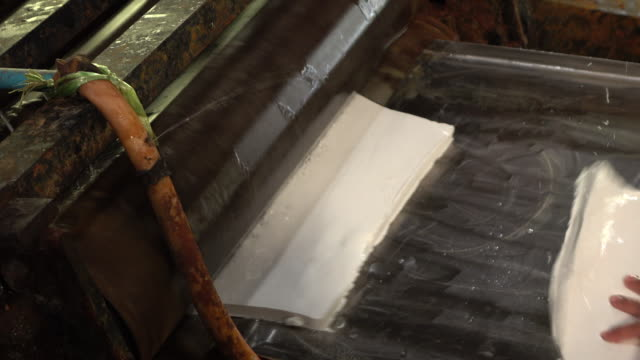 Producing rubber sheet video