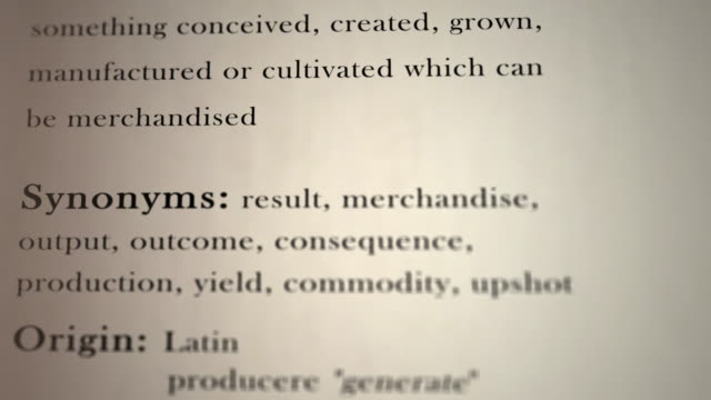 Product Definition