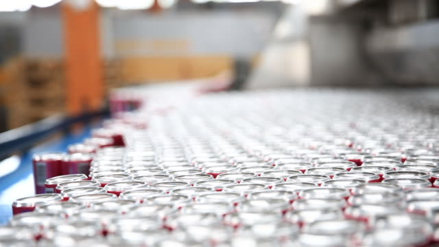 Production Line of Carbonated Drinks video
