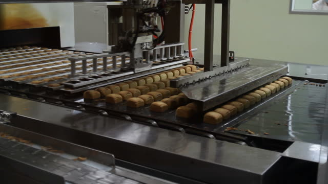 Production line pineapple pie video