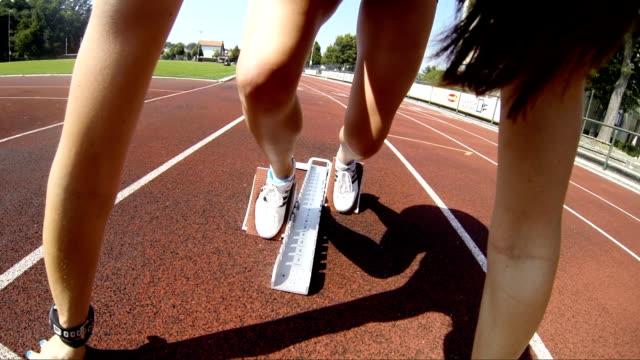 HD: Professional Athlete Hurdling video