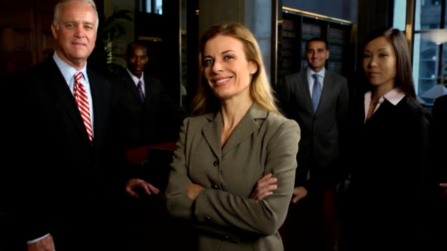 Professional Business Team - Confident Female