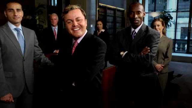 Professional Business Team - Latin Male